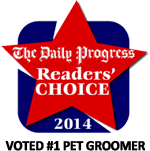 Daily Progress Reader's Choice Award 2014 #1 Pet Groomer